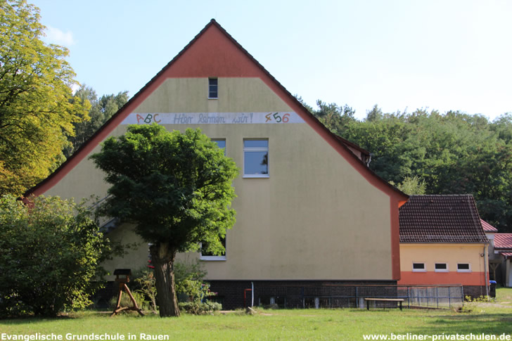 Evangelische Grundschule in Rauen - Pfarrer Bräuer Schule