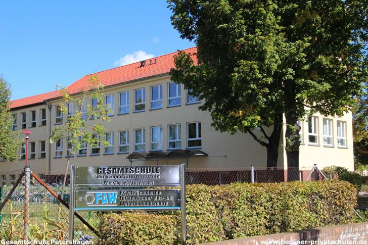 Gesamtschule mit gymnasialer Oberstufe Petershagen der FAW gGmbH