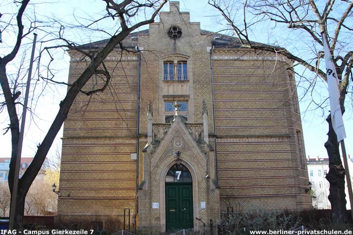 IFAG Institut für angewandte Gerontologie (Ehem. Städtisches Krankenhaus Charlottenburg)