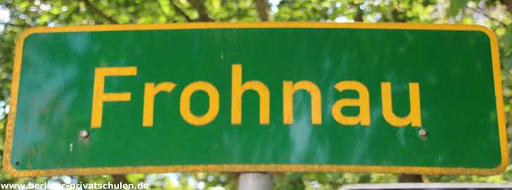 Ortsteil Frohnau